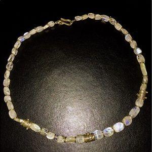 Jewelry - moonstone choker